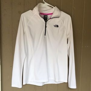 The North Face white pullover